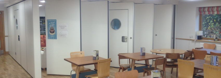 Operable wall and partitions school